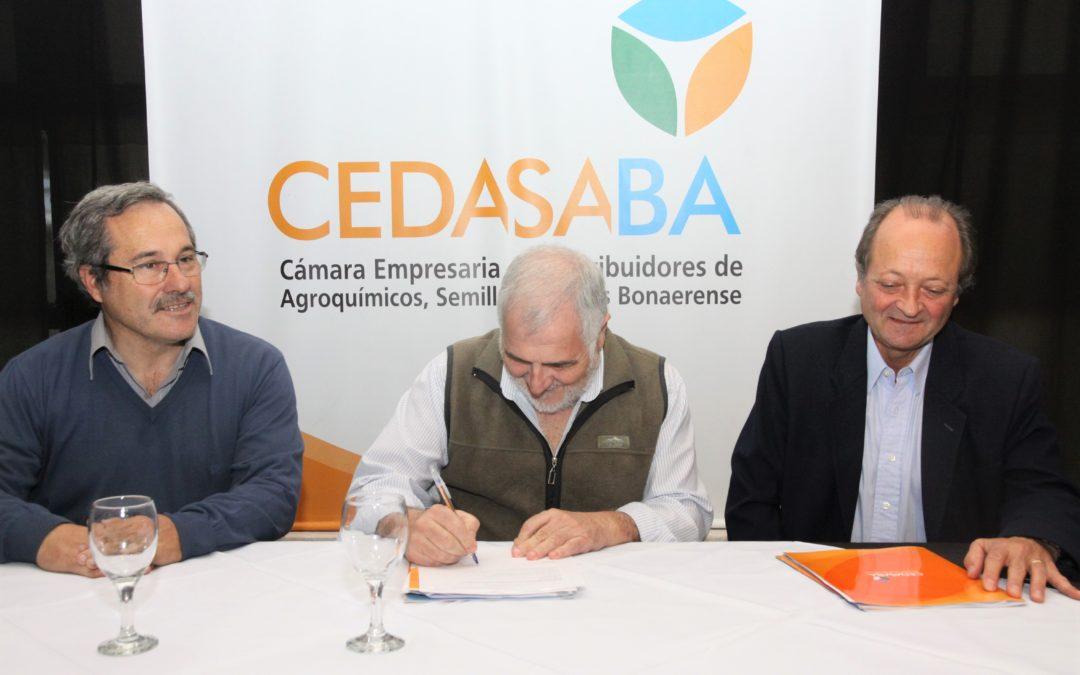 CEDASABA y CIAFBA firmaron un convenio