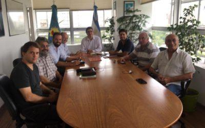 Dirigentes de CEDASABA se reunieron con el Ministro Javier Rodriguez