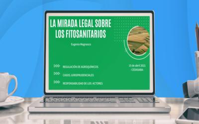 Webinar organizado por CEDASABA abordó el aspecto legal de los fitosanitarios